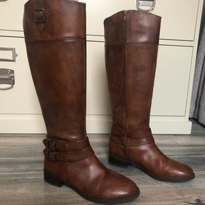 INC Leather Boots